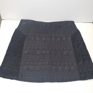 Top shop quilted mini skirt